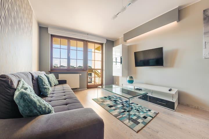 Bulwar Portowy 9 Apartament 40 Deluxe dla 4 osób