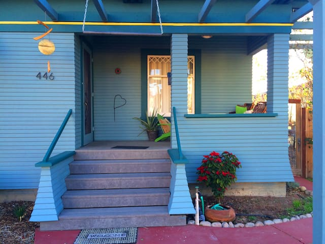 1 Bd 1Ba porch fenced Pets/Kids Yes - Fillmore - Huis