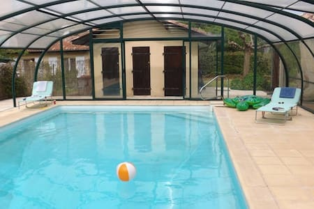 Sans Souci 3 Bed Gite with Pool - Cahuzac