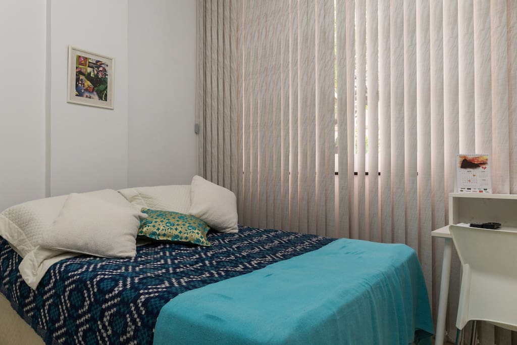 Double Bedroom with airco and computer desk