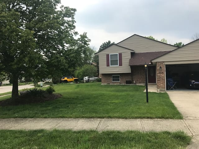 Cozy /Private Miamisburg Home near local hospitals