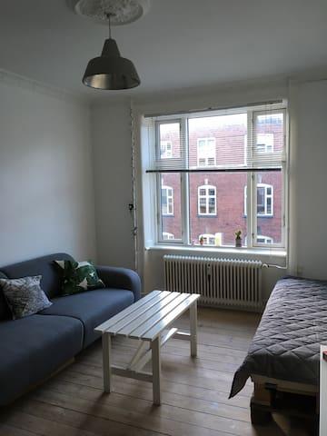 Minimalistic apartment for 2 in vibrant Vesterbro - København - Apartment