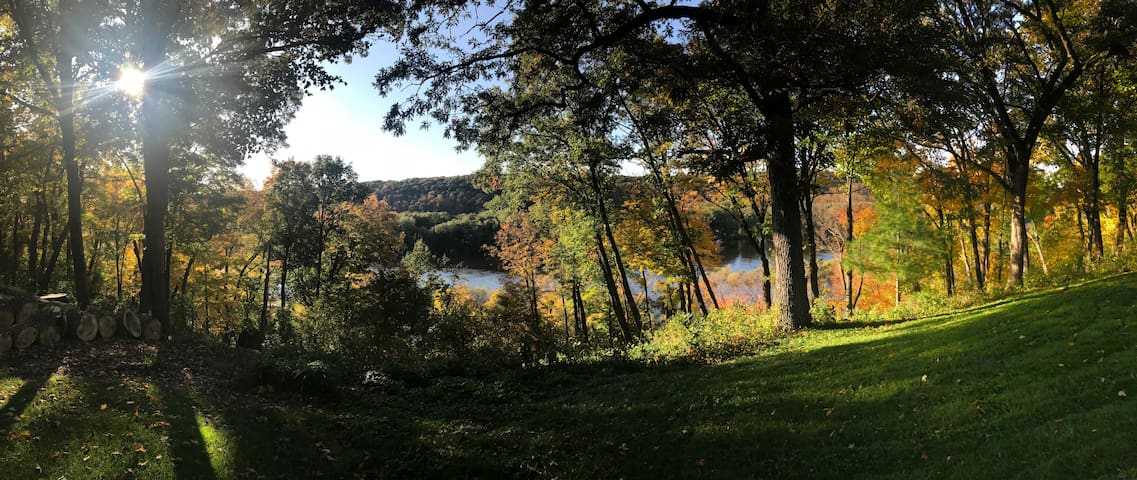 Home with Stunning St. Croix River Valley View