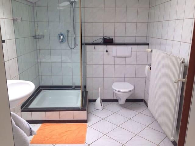 Dusche für meine Gäste