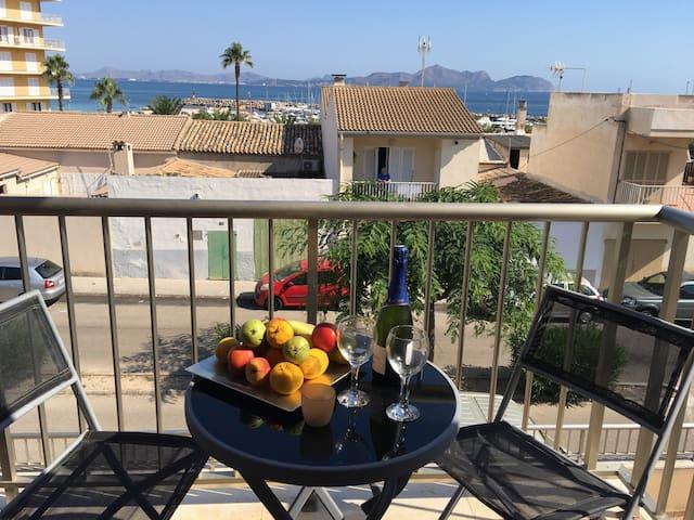 Perfecto alojamiento a 100 metros del mar - Can Picafort - Departamento