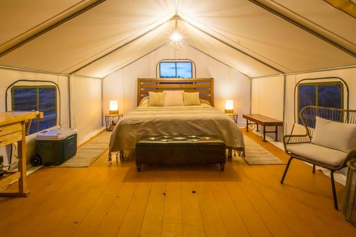 Glamping Near Kanab! Powell Tent at BaseCamp37°
