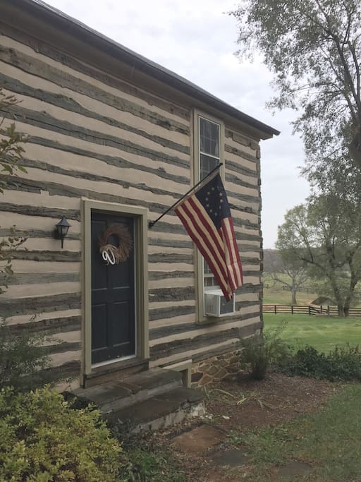Imagine the history this cabin has seen!