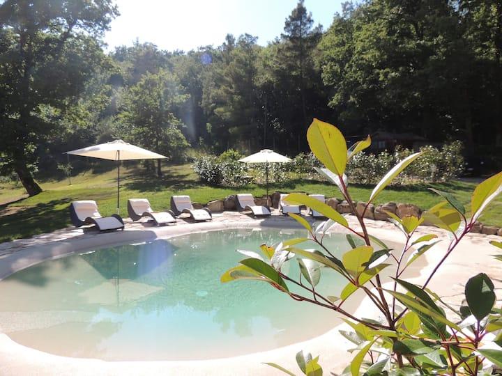 Tuscany Podere nella natura con aria condizionata
