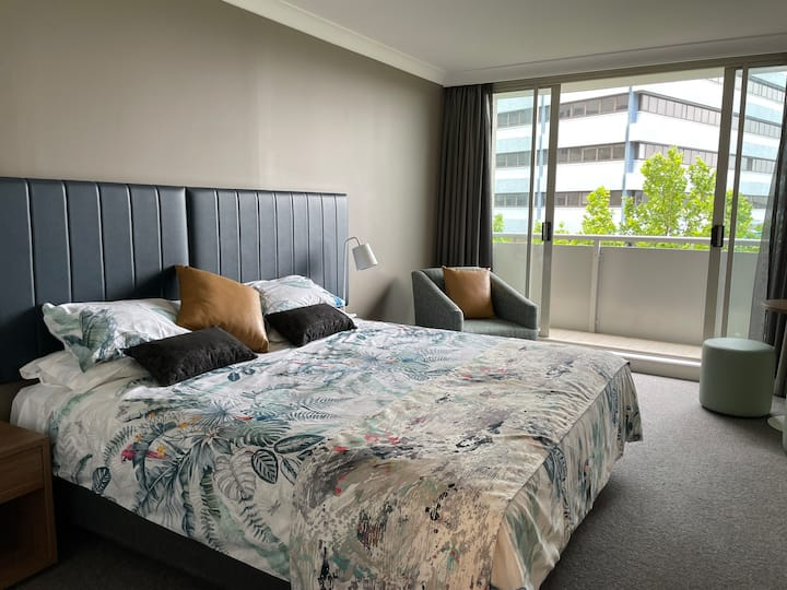 Studio at the heart of Chatswood