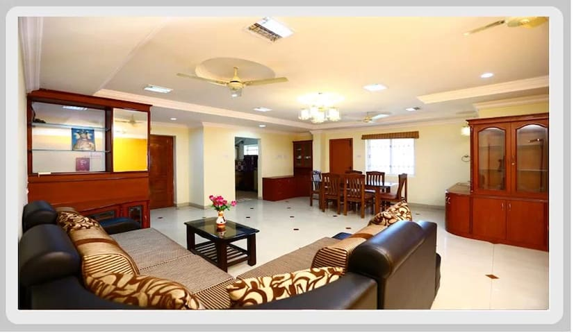Our very own cosy 4BHK in chrompet near gst