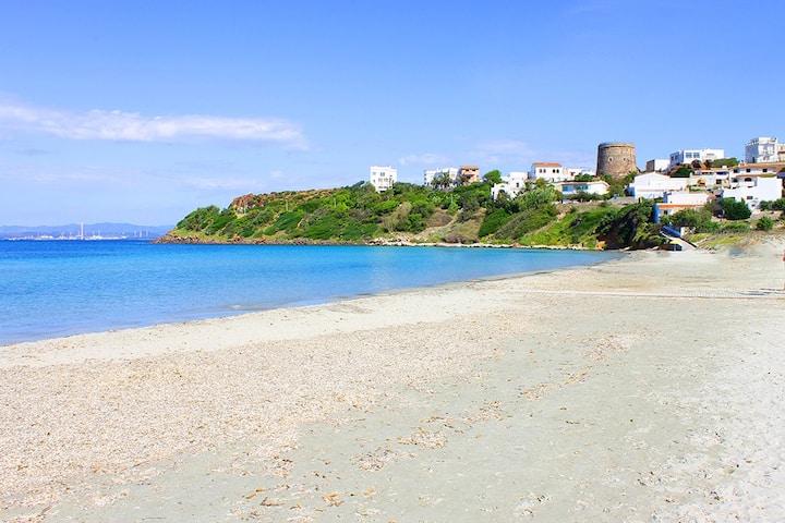 Appartamento in paese a 200 metri dalla spiaggia