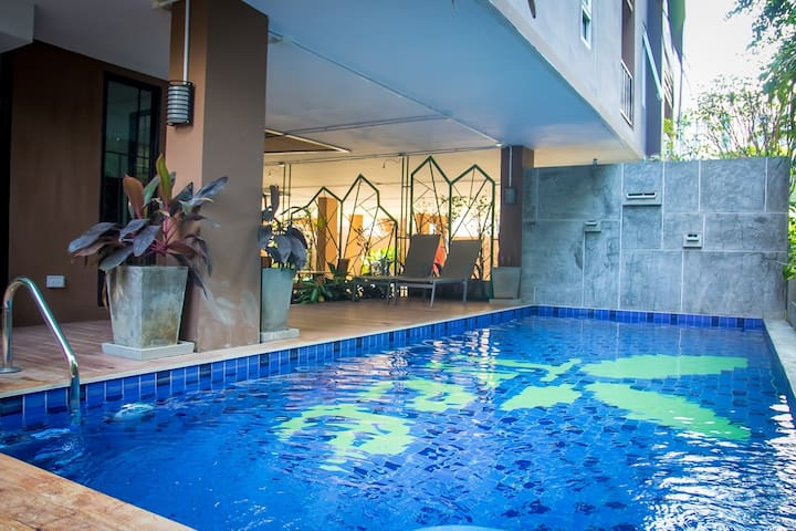 Lovely Nimman Apartment with gym and pool - Chiang Mai - Pis