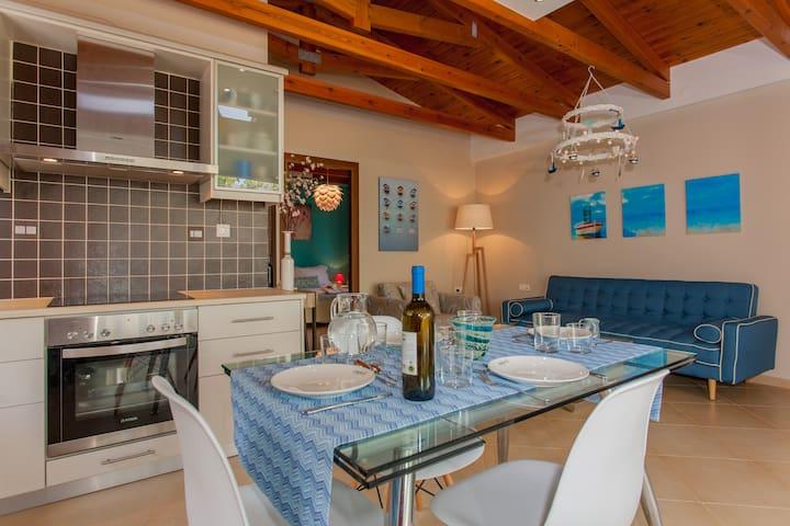 Unique Beach House, Sea & Mountain! - Stavros - Casa