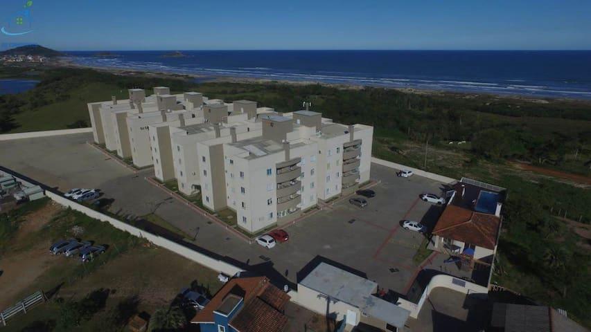apartamento 2 quartos / acomoda 6 pessoas
