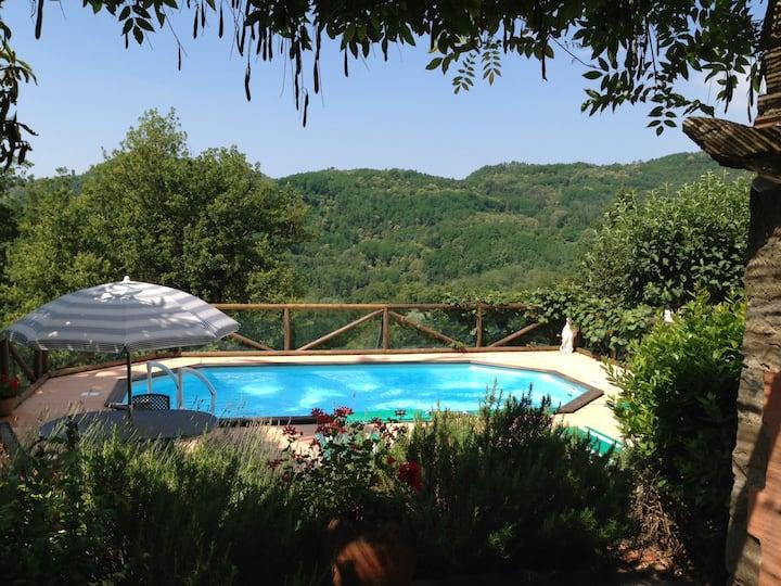 La Casa di Livizzano - a secluded villa in Tuscany