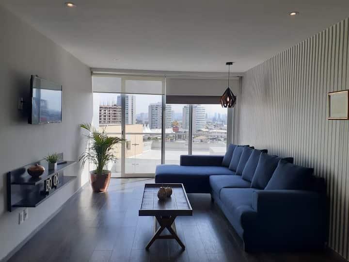 Moderno departamento amueblado en Angelopolis
