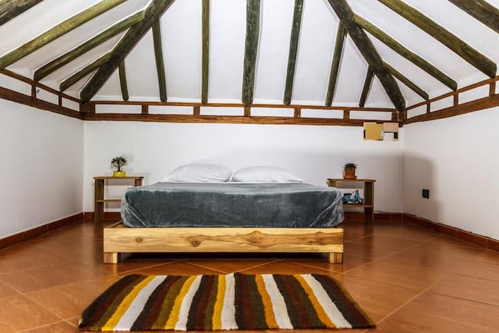 NIBIRU HOSTEL - Habitación doble baño compartido1