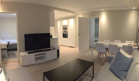 Beautiful apartment just outside the city center