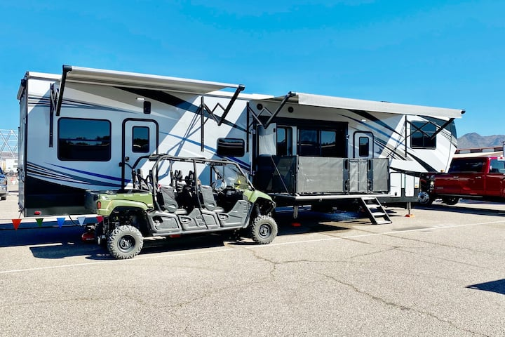 Scottsdale Luxury Camper at Westworld with Deck