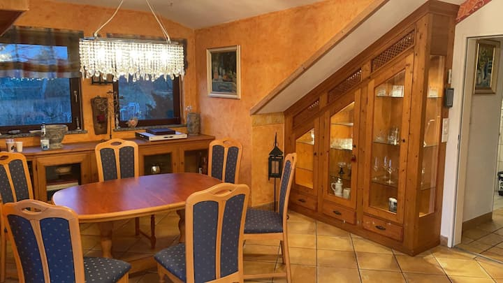 """Comfortable Apartment """"Zur Imme"""" with Mountain View, Sauna, Wi-Fi, A/C & Balcony; Parking Available"""