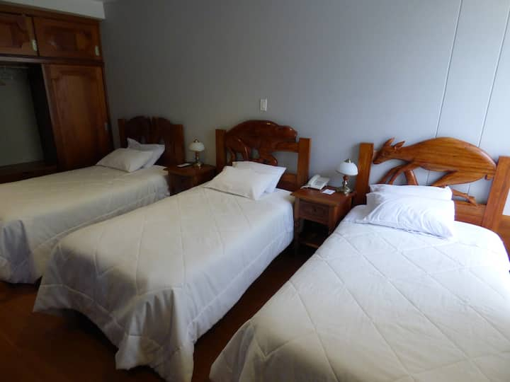 Inti Ñan Hotel - Triple Room - 3 beds