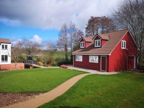 Red Cottage studio loft - een rustig toevluchtsoord!