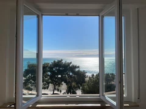 La finestra sul mare - 130mq apt. with SEA VIEW