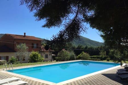 Villa Nonno Cortona - swimming pool - Le Contesse