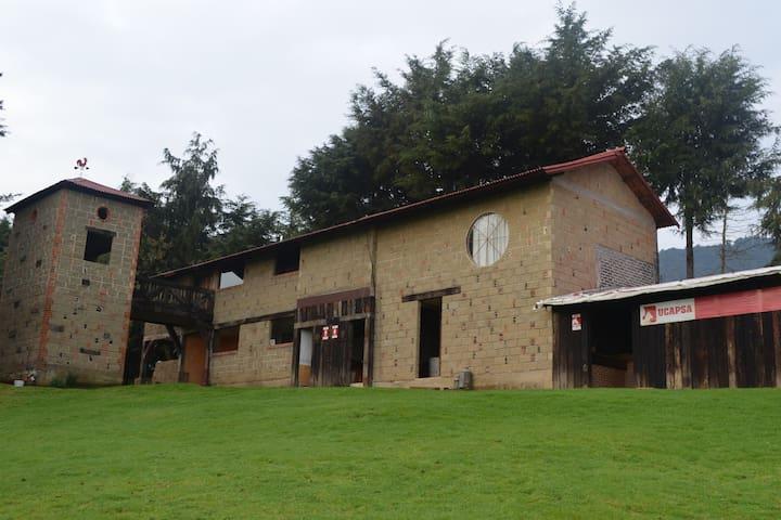 Casa campestre - Tlalpan  - Naturstuga