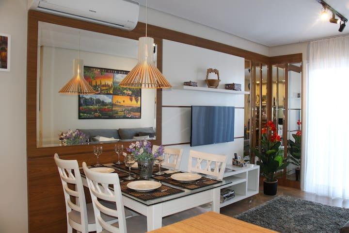 Exclusivo Apartamento 1 quarto Centro de Gramado