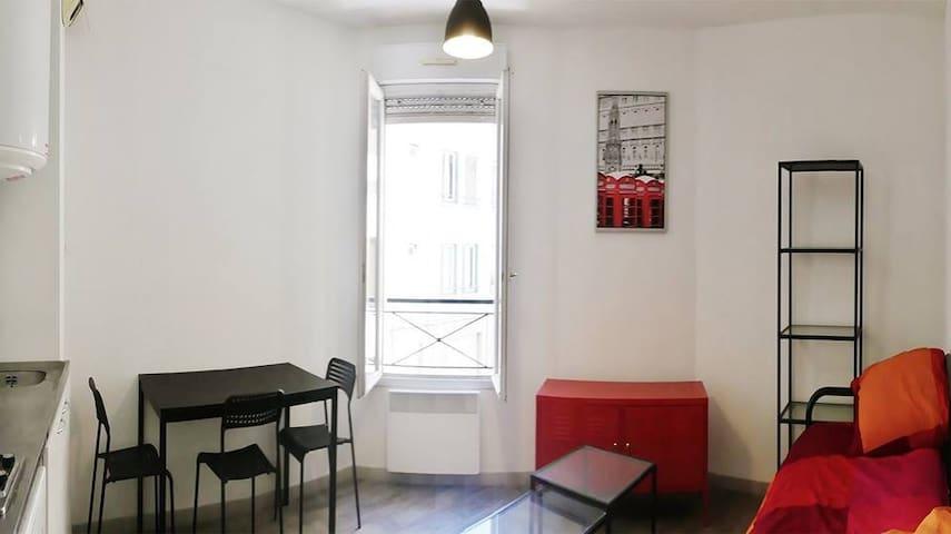 Cœur de ville joli studio tout équipé