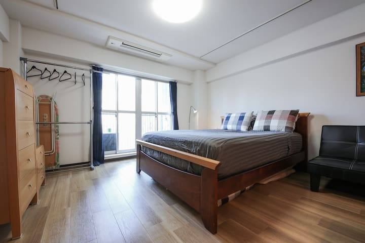 GREAT pad in Roppongi, Broadband wifi & cable TV! - Minato-ku - Apartamento