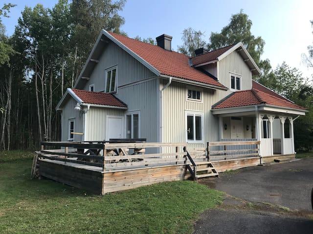 Traditioneel Zweeds vakantiehuis