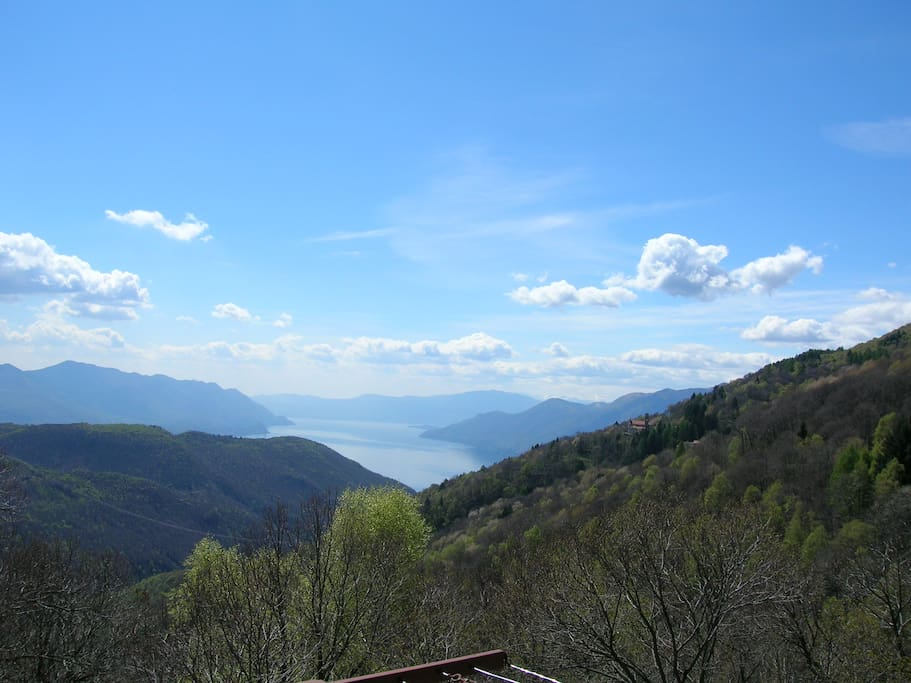 panorama dal balcone soggiorno