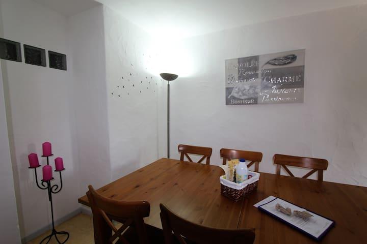 Gîte Lou Bancaou - La pièce à vivre