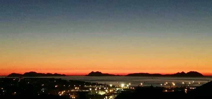 Apartamento con vistas a la Ria y Cies en Vigo
