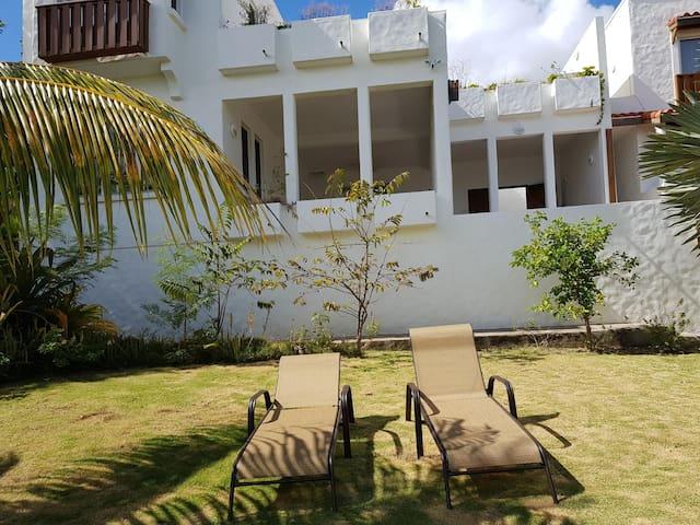 Use of Private Garden & virtually private beach