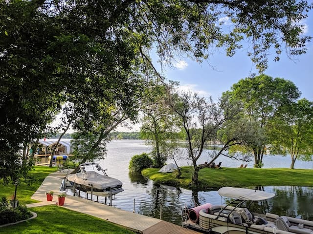 Enjoy Breathtaking Views ON Lake Minnetonka!