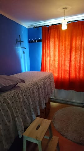 Clean bright single room, near station