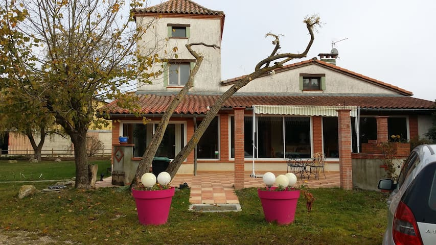 House with private pool near Toulouse