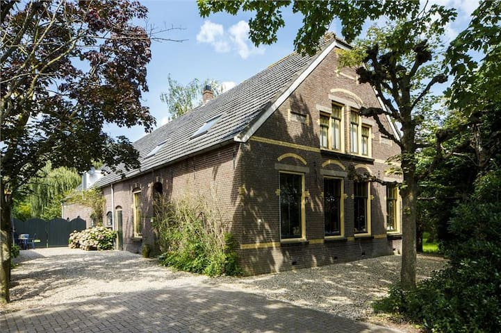 Riverside Cottage 30 min from A'dam - Harmelen