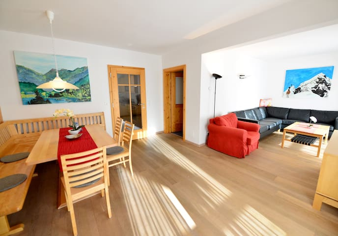 Apartment with private beach, playground and spa