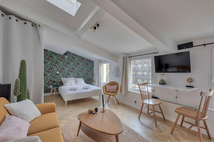 ♥ Cozy Apartment near Arc Triomphe - 2P