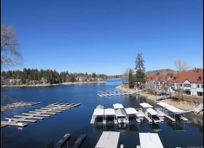 Lake Arrowhead Village Lakefront retreat