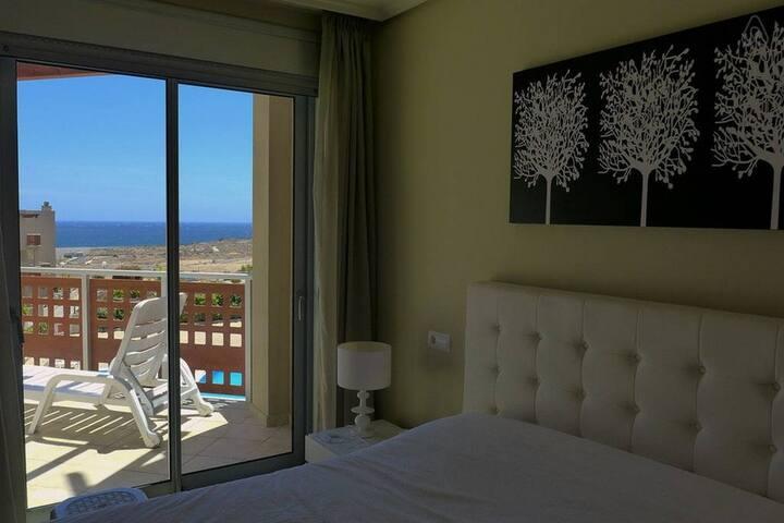 La Tejita, 2 dormitorios, Vista Mar, wifi