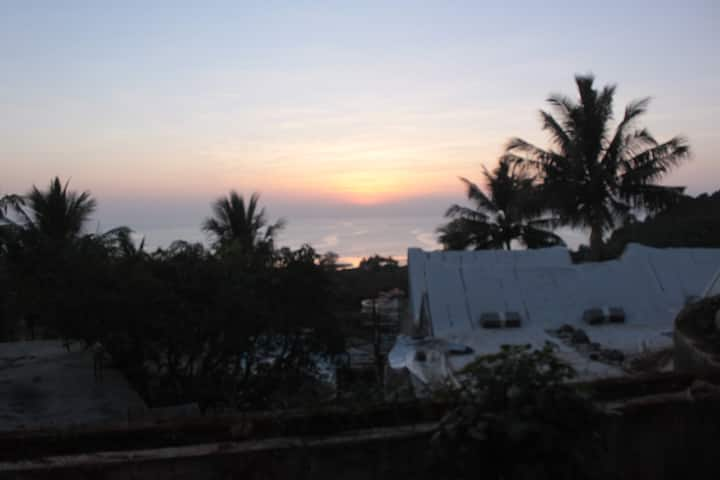 Beach Side Stay For Family - Sea & Hill View