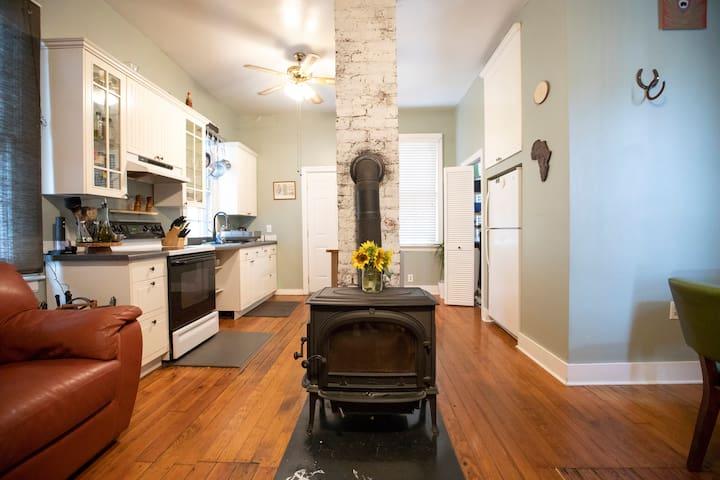 Historic Minimalist Dwelling