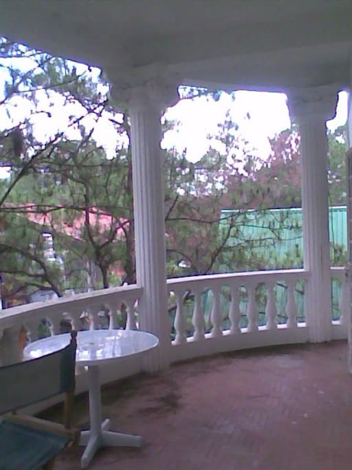 2nd floor terrace