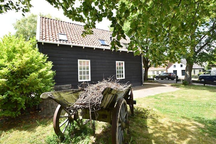 Knus vakantiehuis in Wolphaartsdijk met tuin