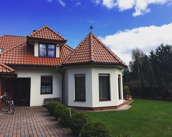 Dom na warmińskim zaciszu
